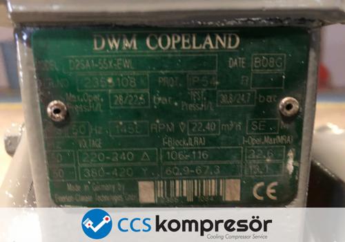 Copeland D2SA1-55X-EWL
