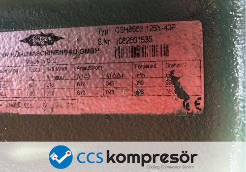 Bitzer CSH8563-125Y