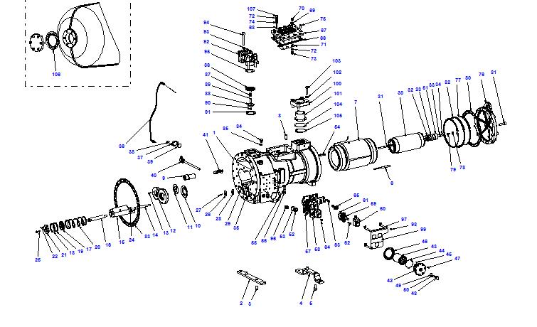 Compressor body CXH02 120- 340