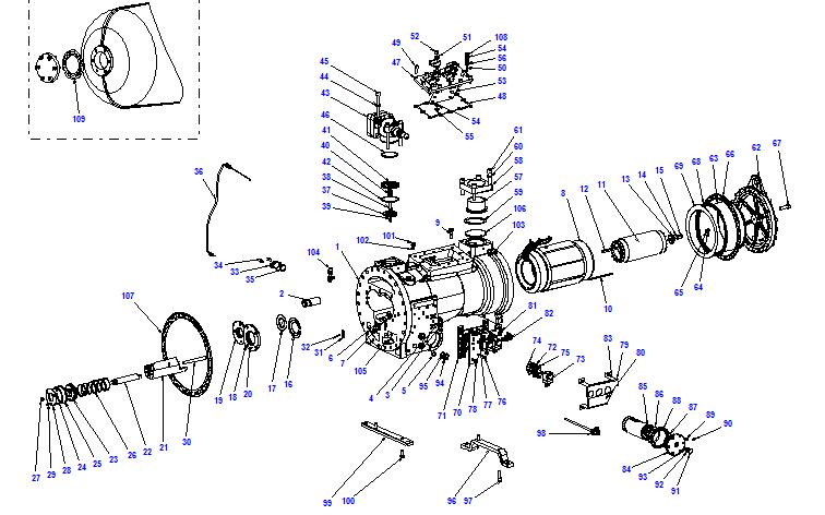 Compressor body CHX52 125- 375