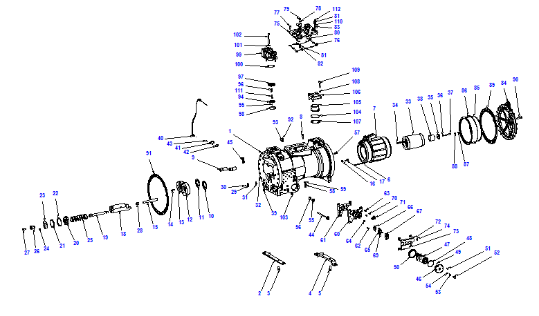 Compressor body CXH52 160- 468