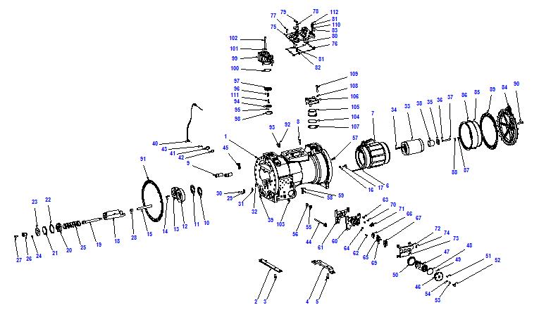 Compressor body CXH91 160-620
