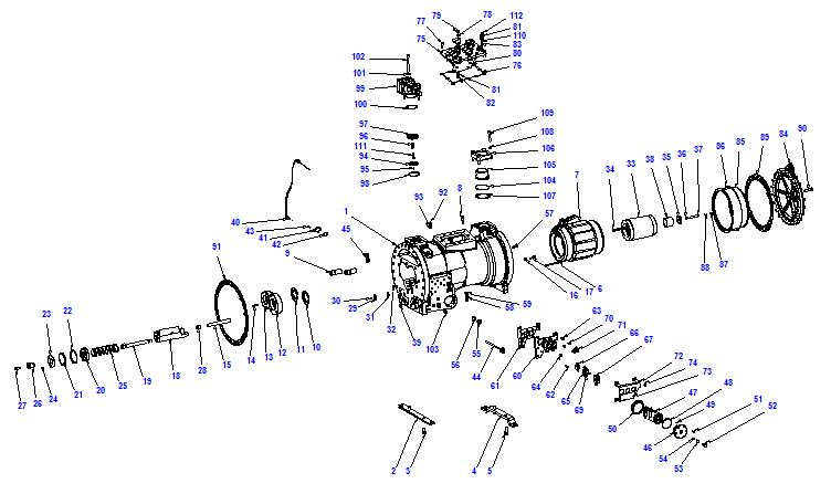 Compressor body CXH91 180-702