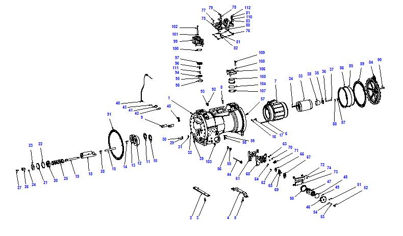 Compressor body CXH91 249-912