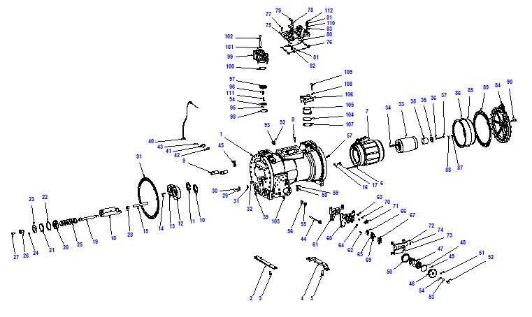 Compressor body CXH92 180-545
