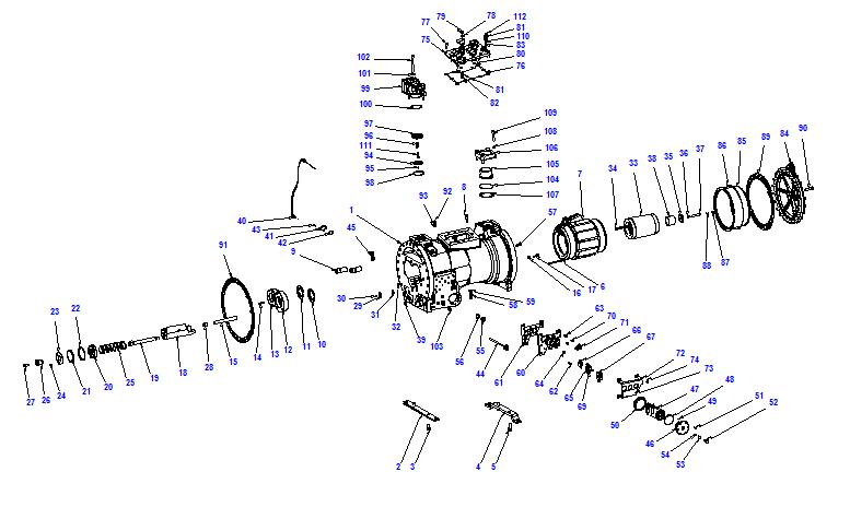 Compressor body CXH92 210-620