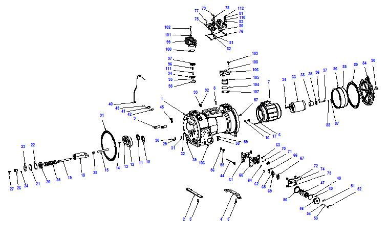 Compressor body CXH92 240-702