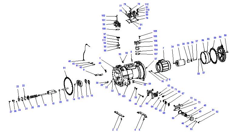 Compressor body CXH92 280-810