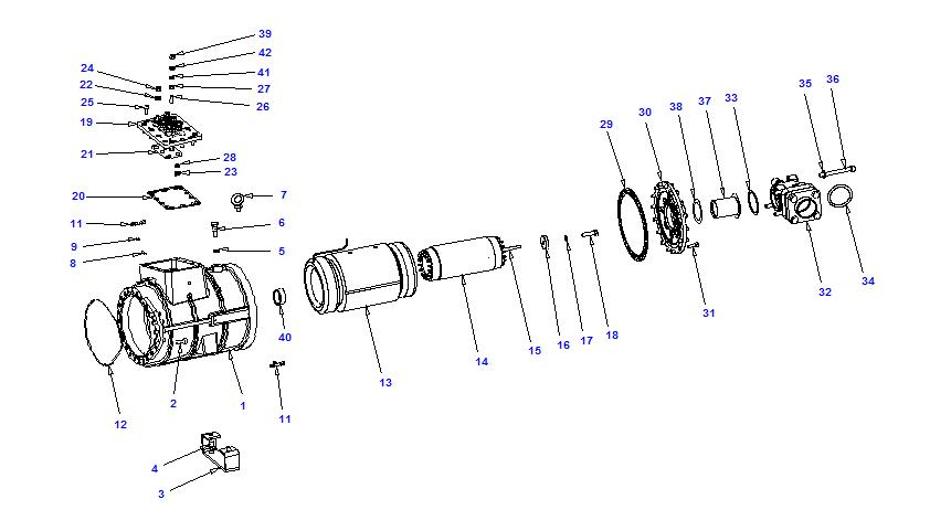 Compressor body CXH92 300-912