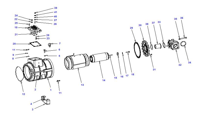 Compressor body RTSH 40-120