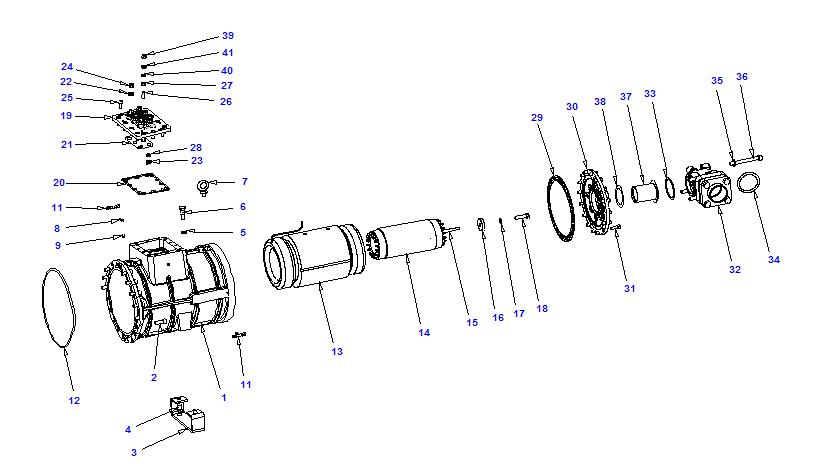 Compressor body RTSH 50-150