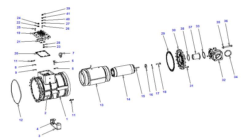Compressor body NRH2 60-186