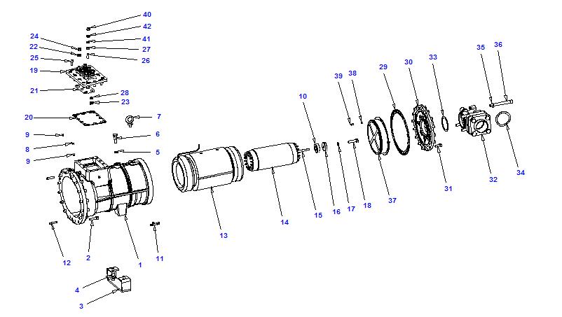 Compressor body NRH2 70-210