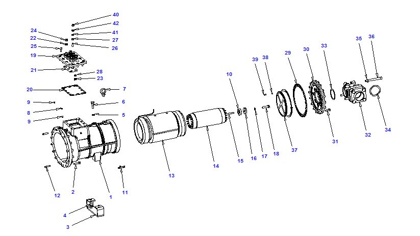Compressor body NRH3 80-240