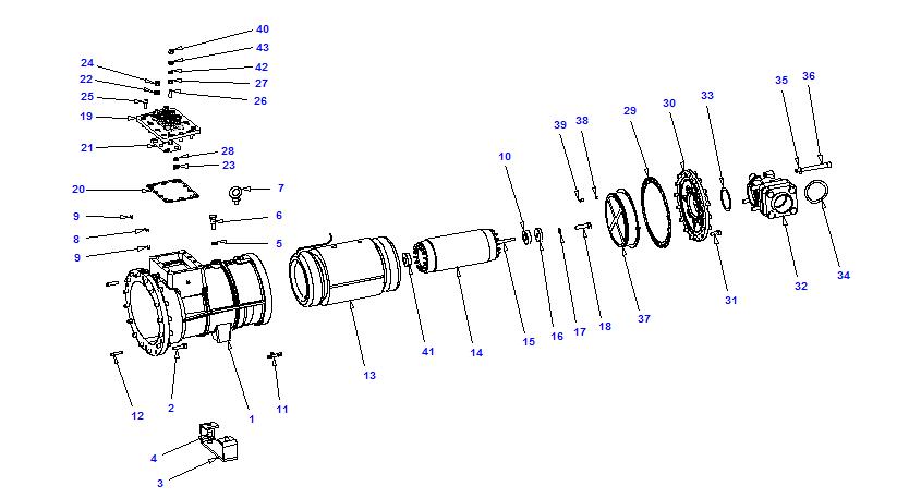 Compressor body NRH3 90-270
