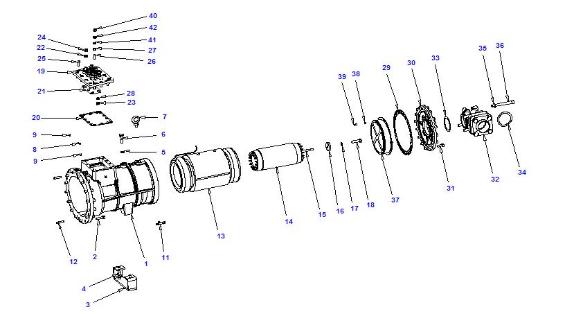 Compressor body NRH4 100-300
