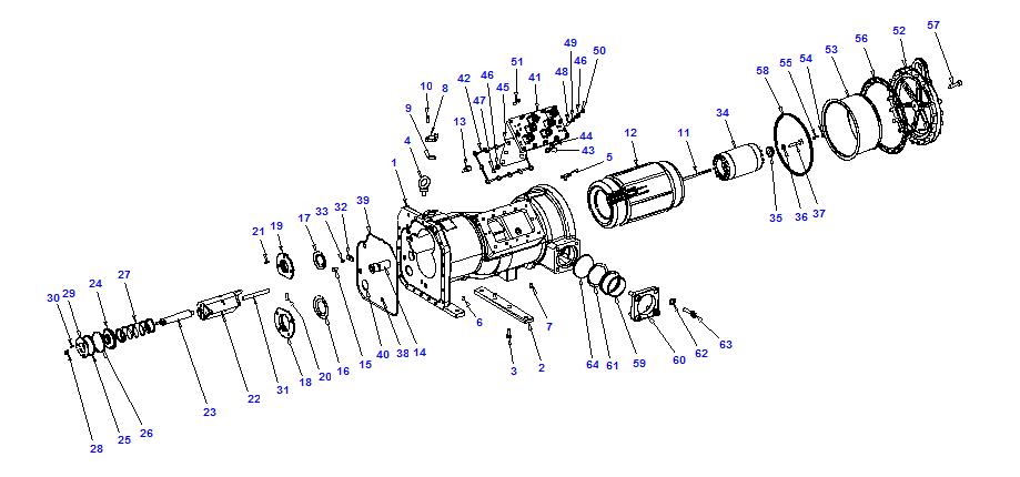 Compressor body NRH6 110-316