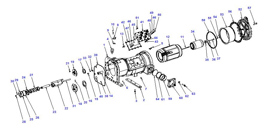 Compressor body NRH6 125-372