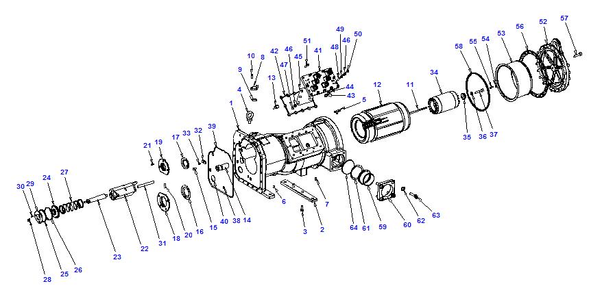 Compressor body NRH6 140-428