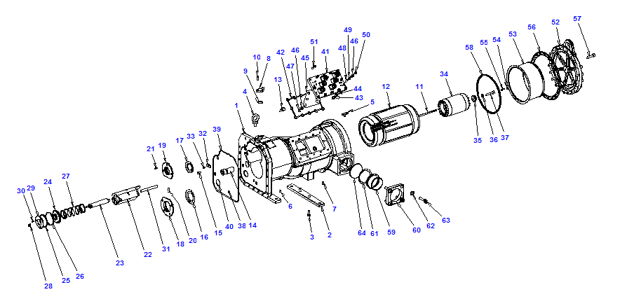 Compressor body NRH6 160-468