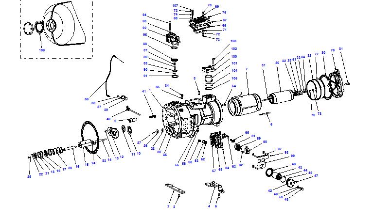 Compressor body CXH01 90- 340