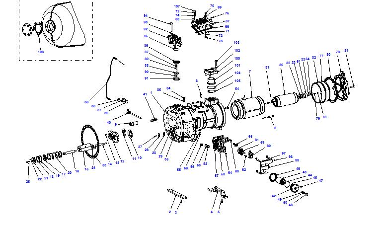 Compressor body CXH02 80- 230