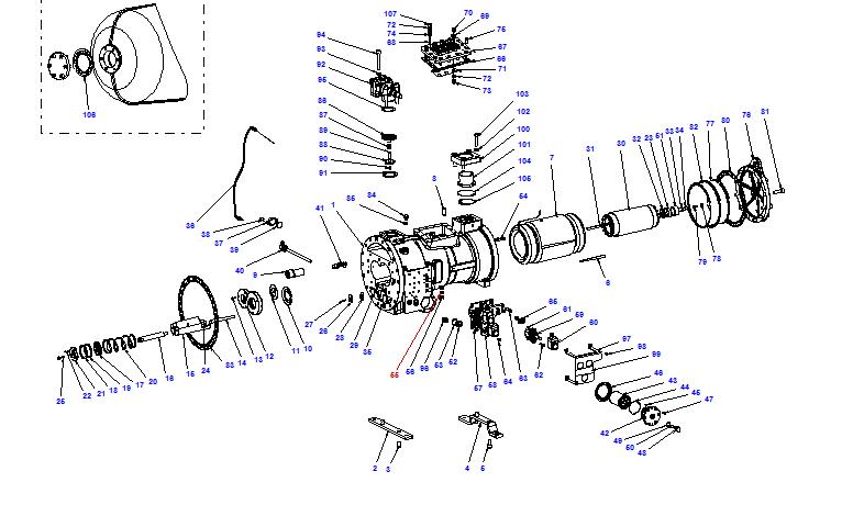 Compressor body CXH02 90- 264